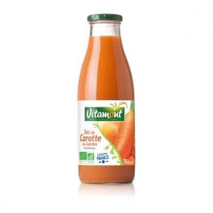 Jus de carottes bio vitamont