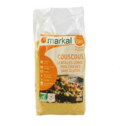 Couscous Lentilles Corail Pois Chiches Sans Gluten