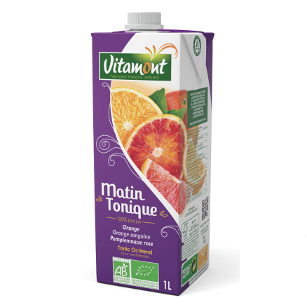 Matin Tonique 100% Jus de Fruits