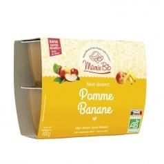 Purée Pomme Banane Sans Sucres Ajoutés