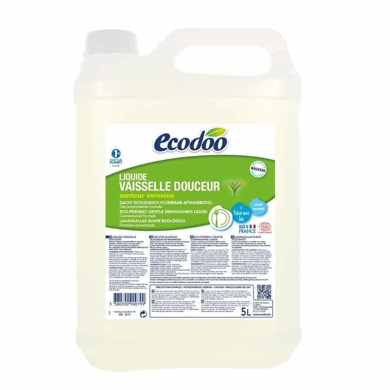 liquide vaisselle ecologique douceur 5 l ecodoo. Black Bedroom Furniture Sets. Home Design Ideas