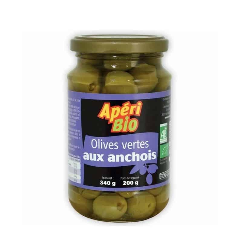ApériBio Olives Vertes Anchois 340 g Olives Vertes Anchois ApériBio :... par LeGuide.com Publicité