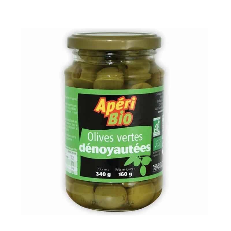 ApériBio Olives Vertes Dénoyautées 340 g Olives Vertes Dénoyautées ApériBio... par LeGuide.com Publicité