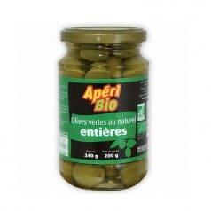 Olives Vertes Entières au Naturel