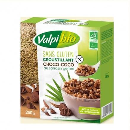 Croustillant Choco Coco Sarrasin Germé Sans Gluten