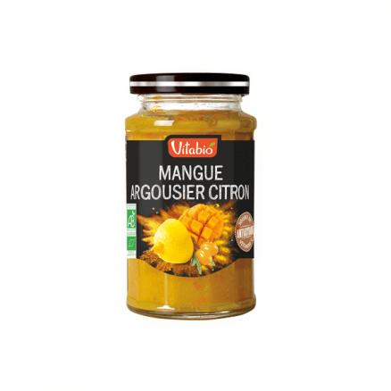 Confiture Mangue Argousier Citron Sans Sucre Ajouté