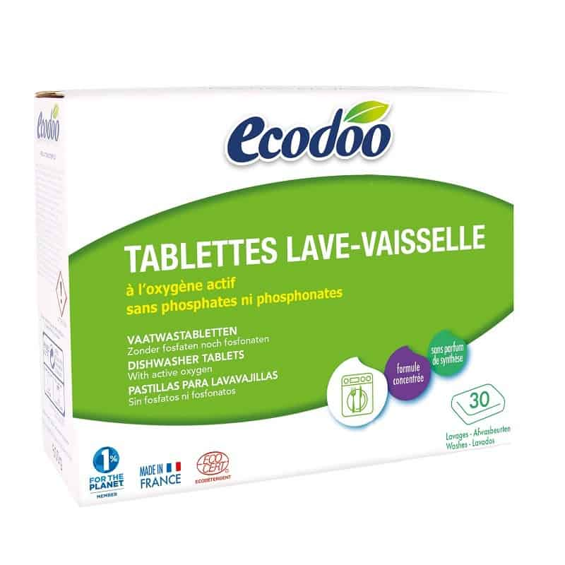 ecodoo  Ecodoo Tablettes Lave-Vaisselle 600 g Les Tablettes Lave-vaisselle... par LeGuide.com Publicité