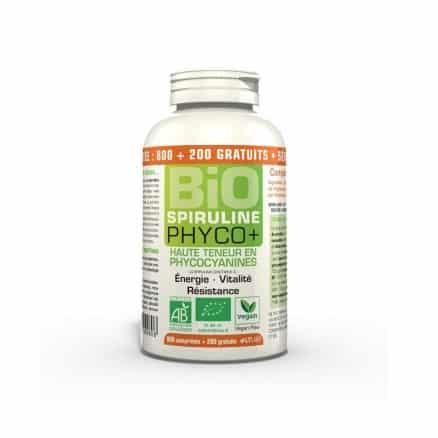 Spiruline 500 mg Phyco+