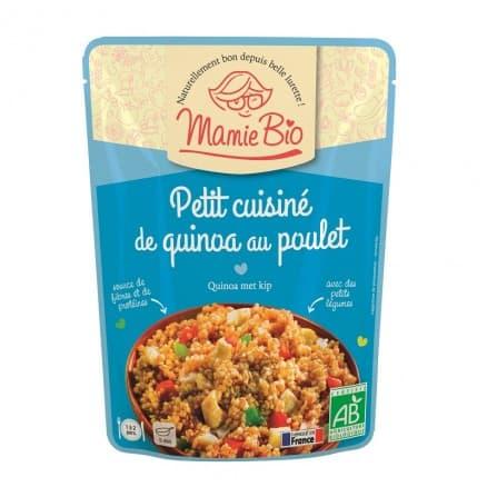 Quinoa poulet sésame