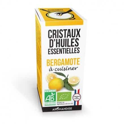 Cristaux d'Huiles Essentielles Bergamote
