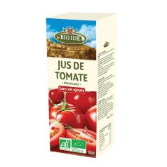 Jus de Tomate Sans Sel Ajouté