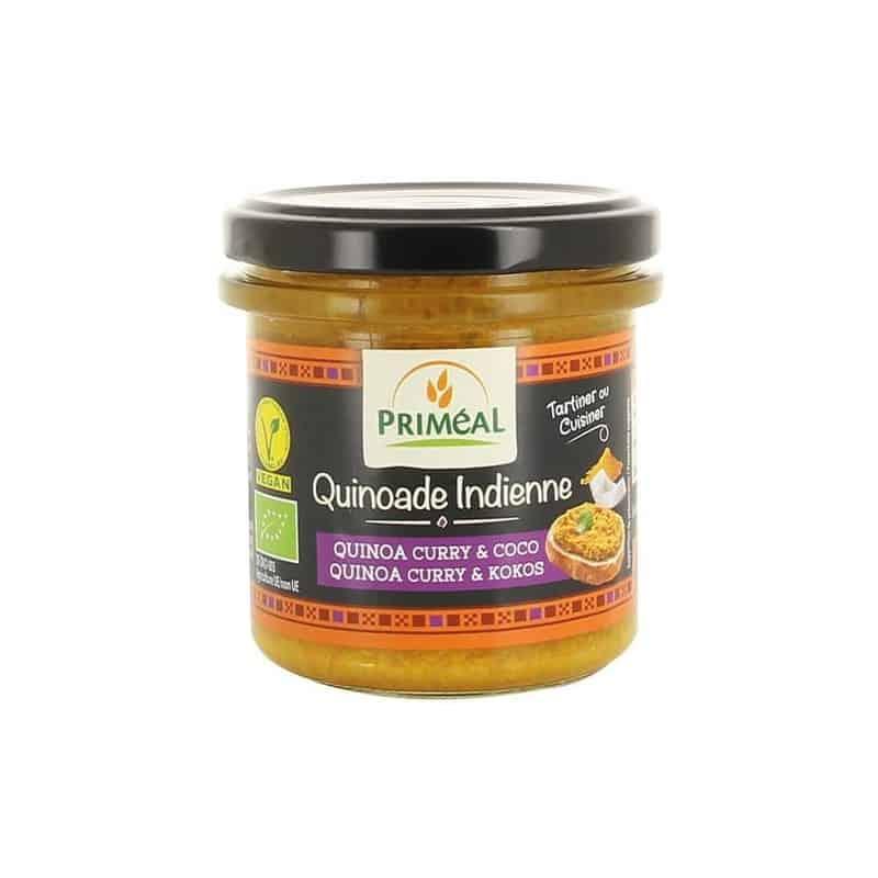 primeal  Priméal Quinoade Indienne Quinoa Curry Coco 140 g Quinoade Indienne... par LeGuide.com Publicité