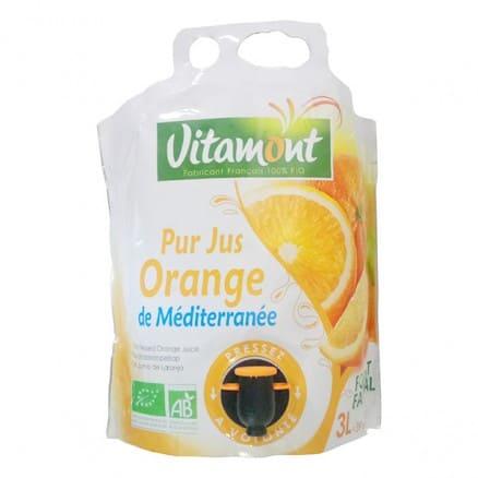 Fontaine Pur Jus d'Orange de Méditerranée