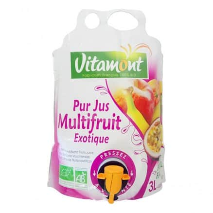 Fontaine Pur Jus Multifruit Exotique