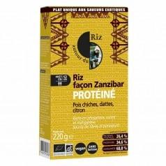 Riz façon Zanzibar Protéiné Pois Chiches Dattes Citron