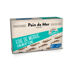 Lot 2x Foie de Morue Finement Fumé