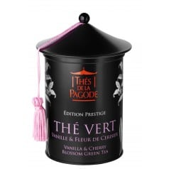 Thé Vert Vanille & Fleur de Cerisier