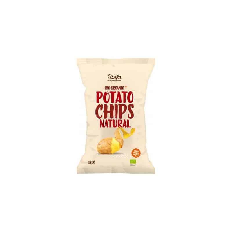 Trafo Chips Nature 125 g Chips Nature Trafo : Les chips bio nature sont... par LeGuide.com Publicité