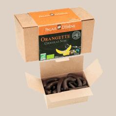 Ballotin d'Orangettes enrobées de Chocolat Noir