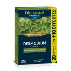 C. I. P. Desmodium Haute Concentration 20 ampoules + 10 offertes