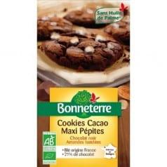 Cookies Cacao Maxi Pépites Amandes