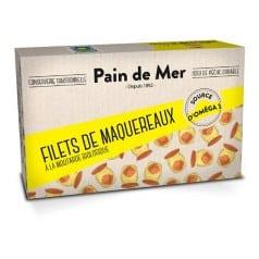 Filets de Maquereaux Sauce Moutarde Bio