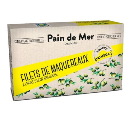Pain de mer Filet de Maquereau à l'Huile d'Olive