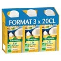 Lot 3 x 20cl lait de coco cuisine