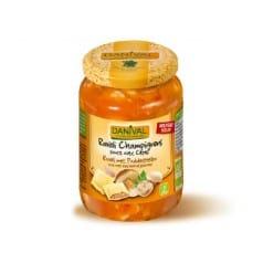 Ravioli Légumes Sauce aux Cèpes