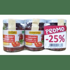 Lot 3 Concentré Tomate 28%