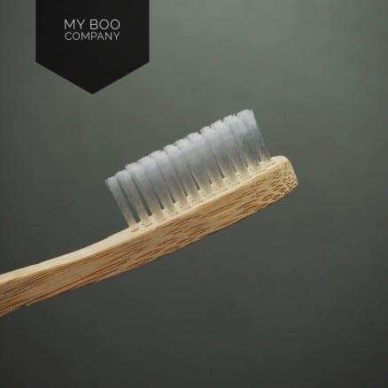 Brosse Bambou Adulte Souple Transparent