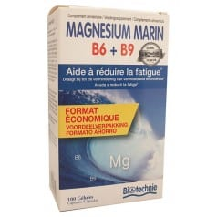 Magnésium Marin B6 B9 Format Eco