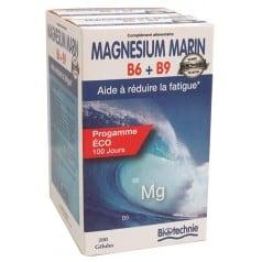 Magnésium Marin B6 B9 Eco 100 jours
