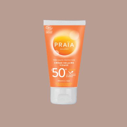 Crème Solaire Visage SPF 50+