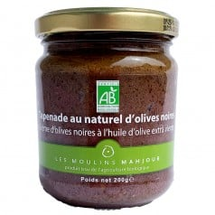Tapenade au Naturel d'Olives Noires