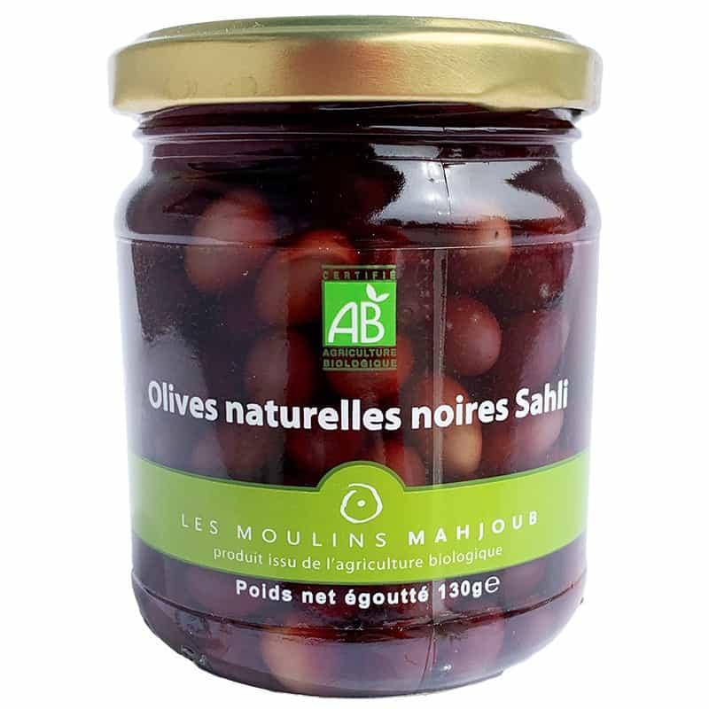 Les Moulins de Mahjoub Olives Naturelles Noires Sahli 130 g Olives Naturelles... par LeGuide.com Publicité