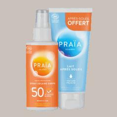 Lot Spray SPF 50 + Lait Après Soleil
