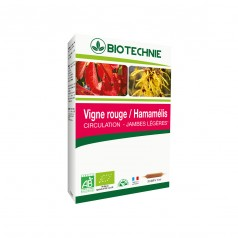 Vigne Rouge Hamamélis Circulation
