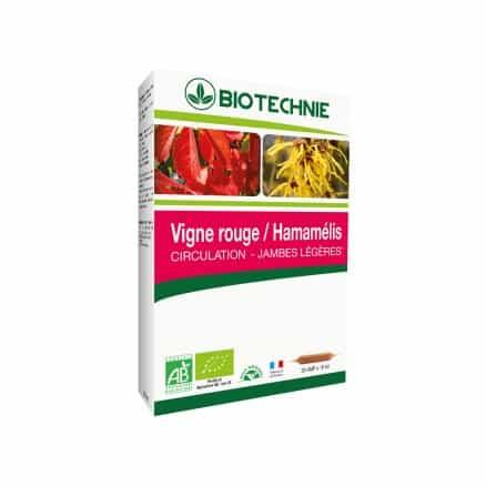 Vigne Rouge Hamamélis Circulation