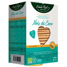 Tartine sans gluten noix de coco bio (2x100gr)