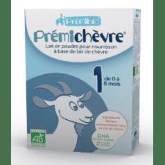 Prémichèvre 1er Age de 0 à 6 mois.