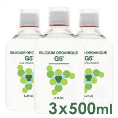 Tripack Silicium Organique G5®