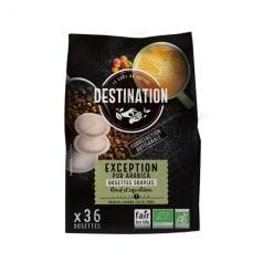 Destination 36 Dosettes souple café 100% Arabica