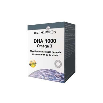 DHA 1000 Oméga 3 x60