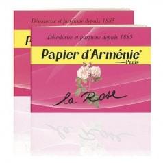 Papier d'Arménie à la Rose