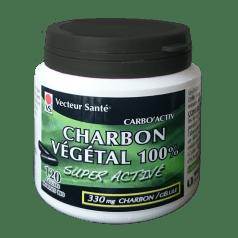 Charbon Végétal Super Activé 100% Pur.