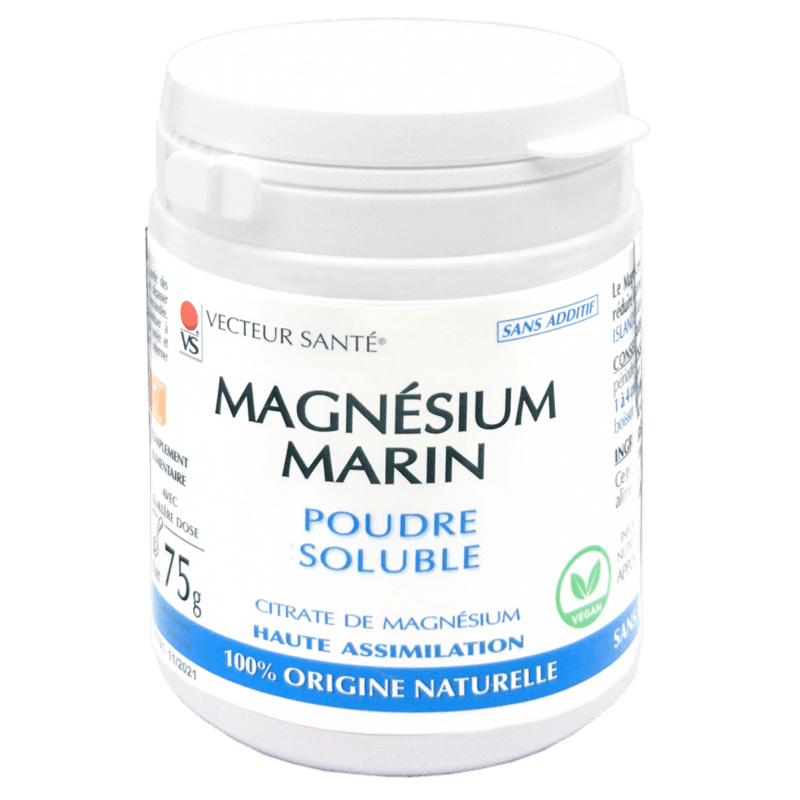 vecteur sante  Vecteur Santé Magnésium Marin Poudre 75 g Magnésium Marin... par LeGuide.com Publicité
