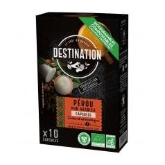 Destination Capsules café Biospresso Pérou