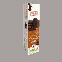 Sablés Nappés Chocolat Noir
