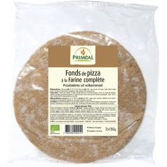 Fond de Pizza à la Farine Complète